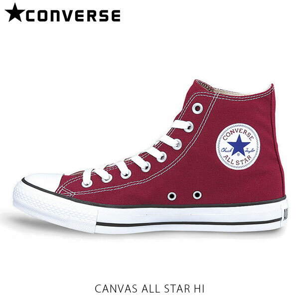 CONVERSE コンバース シューズ ユニセックス CHUCK TAYLOR CANVAS ALL STAR HI 32660132210 マルーン CON32660132