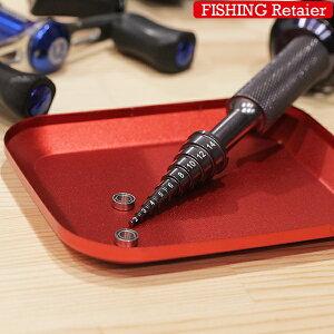 送料無料 釣具のリテイラー ベアリング メンテナンス工具 交換 洗浄 計測 工具 2mm 3mm 4mm 5mm 6mm 8m 10m 12mm 14mm ボールベアリング交換 リール カスタム 工具 釣り ラジコン ベアリングチェッカー
