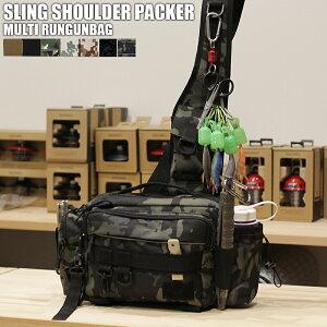 送料無料 釣具のリテイラー 釣り フィッシング バッグ ランガンバッグ ショルダーバッグ エギングバッグ タックルバッグ ワンショルダー ルアー タックル ボックス 収納 バッグ バック 釣り