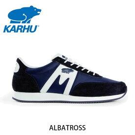 KARHU カルフ スニーカー ユニセックス ALBATROSS アルバトロス ディープネービー×ホワイト KH802501