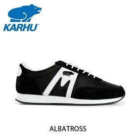 KARHU カルフ スニーカー ユニセックス ALBATROSS アルバトロス ブラック×ホワイト KH802519