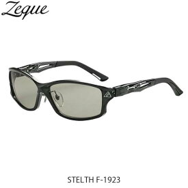 ゼクー Zeque ZEAL OPTICS 偏光サングラス F-1923 STELTH CLEAR BLACK LITE SPORTS ステルス GLE4580274168775