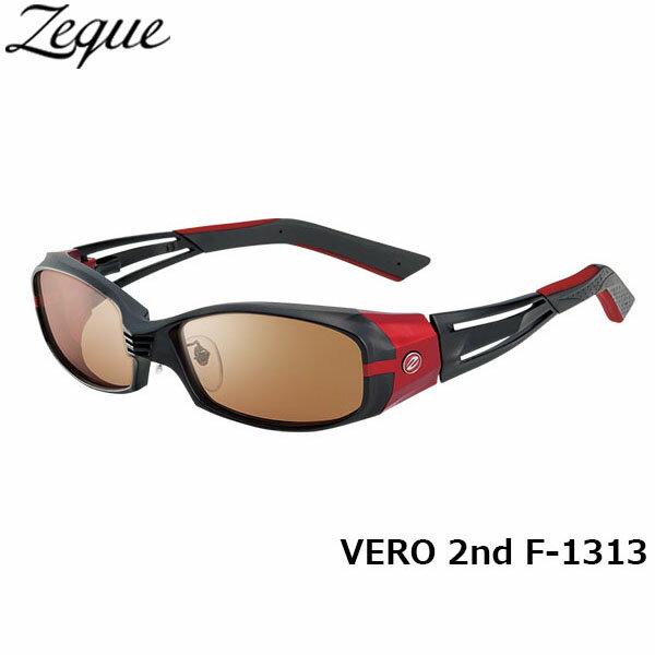 ジールオプティクス ZEAL OPTICS 偏光サングラス VERO 2nd ヴェロセカンド F-1313 マットブラック×レッド ラスターオレンジ×シルバーミラー グレンフィールド GLE4580274164142 釣り フィッシング アウトドア メンズ レディース 偏光グラス 偏光レンズ