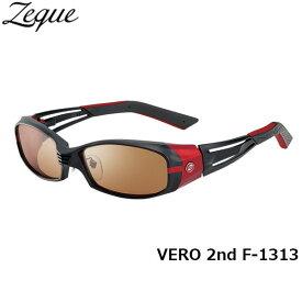 Zeque ゼクー ジールオプティクス ZEAL OPTICS 偏光サングラス VERO 2nd ヴェロセカンド F-1313 マットブラック×レッド ラスターオレンジ×シルバーミラー グレンフィールド GLE4580274164142 釣り フィッシング アウトドア 偏光グラス 偏光レンズ