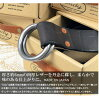 Dady (Daddy) vintage oil leather ring belt leather belts made in Japan leather mens DD1202