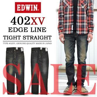 艾德文 (Edwin) 402 XV 边缘 eddyline 直牛仔裤 402 EG
