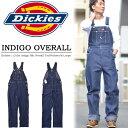 【送料無料】 Dickies ディッキーズ インディゴ オーバーオール 83924NB 作業服 作業着 デニム つなぎ ツナギ INDIGO …