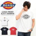 Dickiesディッキーズロゴプリント半袖Tシャツ半TメンズレディースユニセックスロゴTシャツ半袖TシャツカットソーインナーDK006375