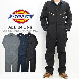 【送料無料】 Dickies ディッキーズ 長袖 つなぎ ツナギ オールインワン 48799 【楽ギフ_包装】