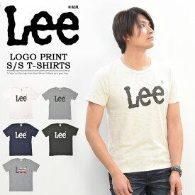 20%OFF セール SALE Lee リー ロゴプリント 半袖 Tシャツ クルーネック メンズ レディース ユニセックス プリントTシャツ ロゴTシャツ BIGロゴ Lee LS7407