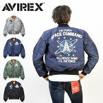 AVIREXアビレックスMA-1ジャケットスペースコマンドメンズアウター送料無料MA-1アヴィレックス6182184【楽ギフ_包装】