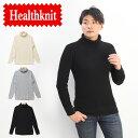 Healthknit ヘルスニット スーパーヘビーワッフル タートルネック 長袖Tシャツ サーマル アメカジ メンズ 定番 送料無料 997