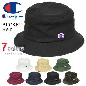 Champion チャンピオン ロゴワッペン バケットハット メンズ レディース ユニセックス 帽子 587-001A 【楽ギフ_包装】