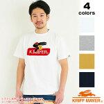 KRIFFMAYERクリフメイヤーサガラ刺繍ロゴ半袖Tシャツ半TカットソーインナーメンズロゴTシャツ半袖Tシャツ1857214