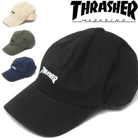 THRASHER スラッシャー ローキャップ 帽子 ストラップバック MAG LOGO CAP マグロゴ 刺繍 帽子 16TH-C25