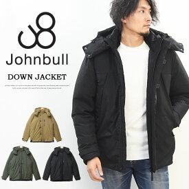 Johnbull ジョンブル ストレッチ ダウンジャケット メンズ アウター 秋 冬 暖かい アウトドア キャンプ 送料無料 16641