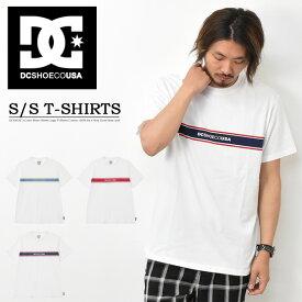DC SHOES ディーシーシューズ カラーライン 半袖 Tシャツ FLAGCOLOR ロゴプリント メンズ レディース ユニセックス プリントTシャツ ロゴTシャツ 半袖Tシャツ 送料無料 5226J019