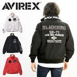 AVIREXアビレックスブラックバードスタンドジップジャケットライトアウターフライトジャケットメンズナイロンジャケットブルゾンアヴィレックス送料無料6102133