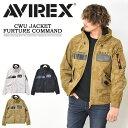 AVIREX アビレックス CWUジャケット フューチャーコマンド ライトアウター スタンドジップ メンズ ブルゾン アヴィレックス 送料無料 6112098