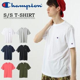 大きいサイズ Champion チャンピオン BASIC 半袖Tシャツ 無地 ワンポイント メンズ レディース ユニセックス クルーネック 定番 C3-P300L