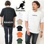KANGOLカンゴールロゴ刺繍半袖TシャツロゴプリントメンズレディースユニセックスビッグT半T半袖TシャツロゴTシャツC5031N