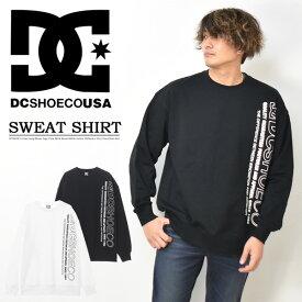 DC SHOES ディーシーシューズ ロゴプリント スウェットシャツ ミニ裏毛スウェット トレーナー メンズ レディース ユニセックス 送料無料 DP0211039