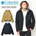 Columbia コロンビア ロマビスタフーディー ジャケット マウンテンパーカー 裏フリース 防寒 暖かい ライトアウター アウター ブルゾン メンズ 送料無料 PM3753
