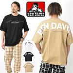 BENDAVISベンデイビスバックプリントビッグシルエットリフレクターラインフットボールTシャツ半袖TシャツプリントTシャツ半Tメンズレディースユニセックスベンデビ半袖Tシャツ0580064