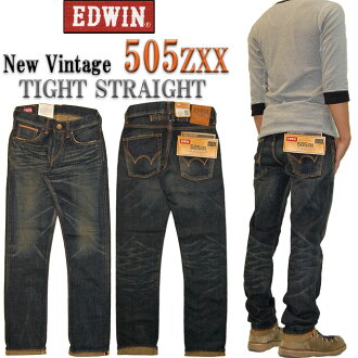 EDWIN(埃德温)505ZXX新·复古紧凑的笔直505ZXX-126