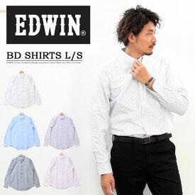 EDWIN エドウィン 長袖 ボタンダウン オックスシャツ トップス 長袖シャツ メンズ ボタンダウンシャツ 定番 エドウイン Edwin ET2092