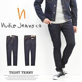 【送料無料】 Nudie Jeans ヌーディージーンズ TIGHT TERRY(タイトテリー) スキニー ストレッチデニム 46161-1020 RINSE TWILL 112455 スリム ヌーディジーンズ イタリア製 【楽ギフ_包装】