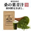 桑の葉茶 粉末 青汁 お得な120g 国産 鹿児島県産 100%桑茶パウダー 初回お試し【完全無添加・低温粉砕製法】品質本位…