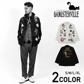GANGSTERVILLE MOVSTER - COAT ギャングスタービル ショップコート/GLADHAND/グラッドハンド/WEIRDO/ウィアード/OLD CROW/オールドクロウ