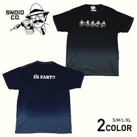 スノイド 半袖 Tシャツ メンズ SNOID DANCING STINKS S/S T-SHIRTS