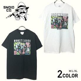 ※ネコポス対応(250円)※ スノイド 半袖 Tシャツ メンズ SNOID MONSTERROR S/S T-SHIRTS