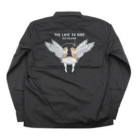セール 40% OFF SALE 残りXLサイズのみ ギャングスタービル 長袖シャツ メンズ GANGSTERVILLE LOVE TO RIDE - L/S SHIRTS GLADHAND/グラッドハンド/WEIRDO/ウィアード/OLD CROW/オールドクロウ