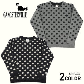 ギャングスタービル モヘアニット セーター メンズ GANGSTERVILLE BANKER - MOHAIR SWEATER GLADHAND グラッドハンド WEIRDO ウィアード OLD CROW オールドクロウ