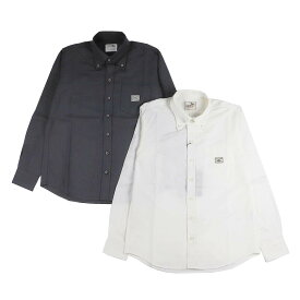 【残りS・XLサイズのみ】GANGSTERVILLE HIGH COLLAR - L/S SHIRTS (BLACK・WHITE) ギャングスタービル ボタンダウンシャツ/BDシャツ/GLADHAND/グラッドハンド/WEIRDO/ウィアード/OLD CROW/オールドクロウ