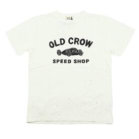 【残りLサイズのみ】オールドクロウ クルーネック 半袖Tシャツ メンズ OLD CROW BELLY TANK - S/S T-SHIRTS GLADHAND/グラッドハンド/GANGSTERVILLE/ギャングスタービル/WEIRDO/ウィアード