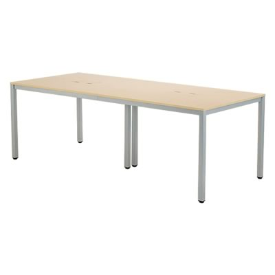 OAミーティングテーブル W2100xD900 ナチュラル ATN-2190N-AF2【送料無料】アールエフヤマカワ RFyamakawa ミーティングテーブル ミーティングデスク 会議用テーブル 会議机 会議室  大型テーブル 会議デスク