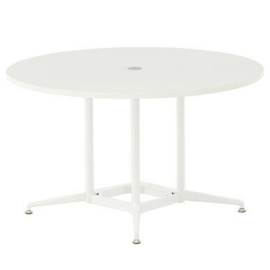 OAラウンドテーブル φ1200 ホワイト RFRDT-OA1200WL【送料無料】アールエフヤマカワ RFyamakawa 会議テーブル 会議用テーブル 商談 会議室 打ち合わせ 円形 丸型 リフレッシュテーブル