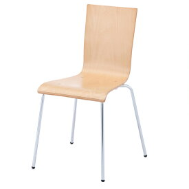 プライウッドチェア ナチュラル(1脚)RFC-FPNW アールエフヤマカワ RFyamakawa 椅子 会議用椅子 会議椅子 イス ミーティングチェア カフェチェア ダイニングチェア ワークチェア スタッキングチェア スタックチェア