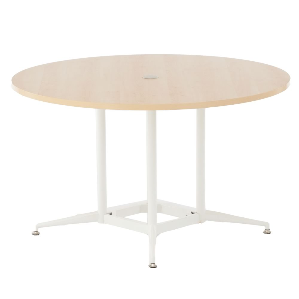 OAラウンドテーブル φ1200 ナチュラル RFRDT-OA1200NL【送料無料】 アールエフヤマカワ RFyamakawa 会議テーブル 会議用テーブル 商談 会議室 打ち合わせ 円形 丸型 リフレッシュテーブル