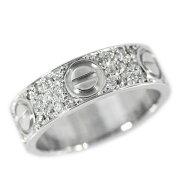 【中古】ラブ/LOVE 66P・アフターセッティング・ダイヤモンドリング・指輪/K18WG/750-5.3g/8号/#48/ホワイトゴールド【♀】【N】【レディース】【h180614】■209418
