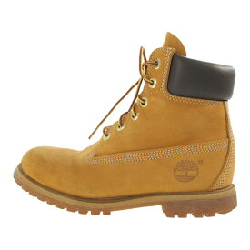 ティンバーランド 6inch PREMIUM BOOTS・ブーツ 靴/10361/6/ブラウン/Timberland【♀】【B】【レディース】【b190724】【RF3】■298560【中古】