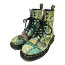 超美品・ドクターマーチン Tate Britain WILLIAM BLAKE BACHAND・ブーツ靴 8ホール/1460/UK4/EU37(23.0cm相当)/ライト…