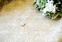 【レース生地 刺繍 生地 布】ラミーリネン・全面柄レース(RG-28073a-kn3)
