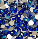 ラインストーンSS20サイズ1440個(10グロス) ジェットAB 社交ダンス バレエ 新体操 衣装ドレス ガラス ビジュー