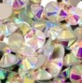ラインストーン SS40サイズ オーロラ クリスタルAB 140個 社交ダンス バレエ 新体操 衣装ドレス ガラス ビジュー