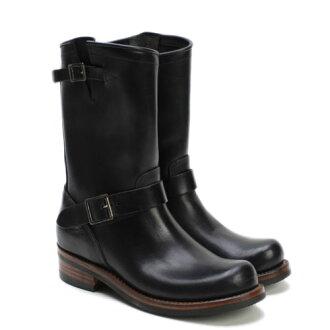 ACE BOOT CO. ENGINEER BOOT BLACK能手長筒皮靴技術員長筒皮靴黑色MADE IN USA